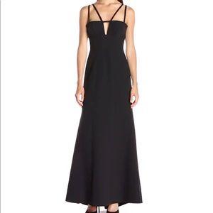 BCBG MAX AZRIA Leola Double Strap Cut Out Dress
